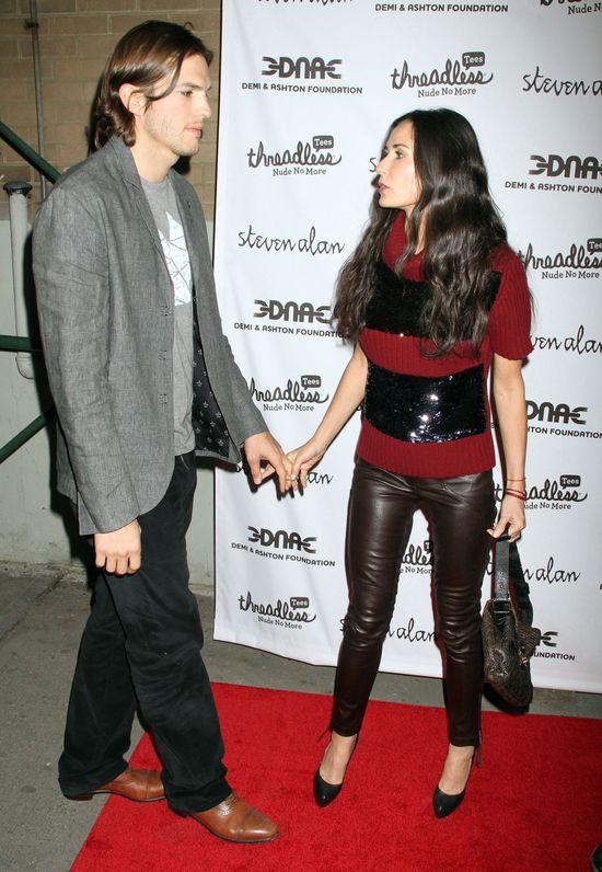Demi Moore sprzedała pierścionek zaręczynowy od Kutchera