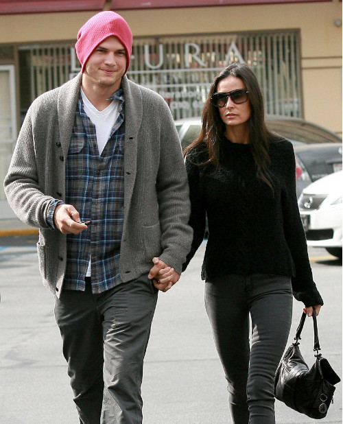 Demi Moore i Ashton Kutcher odcinaj� si� od przesz�o�ci