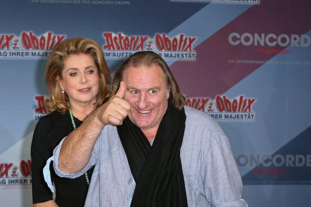 Gerard Depardieu wypija dziennie 14 butelek wina!