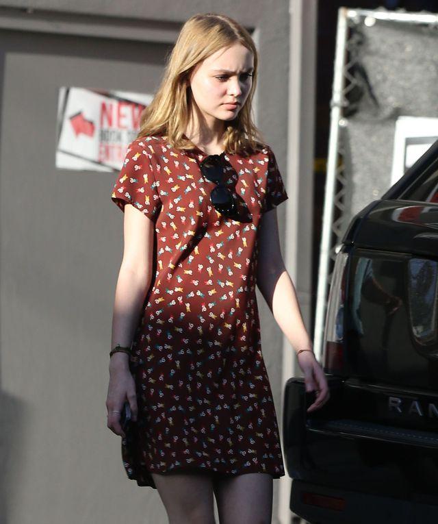 Lily Rose Depp idzie w �lady taty