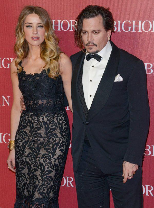 Piękna i... bestia, czyli Amber Heard i Johnny Depp (FOTO)