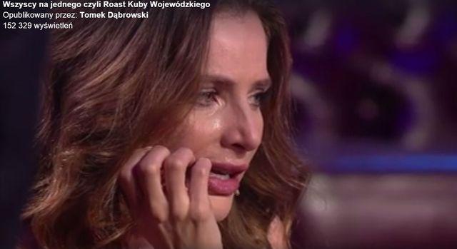 Anna Dereszowska rozp�aka�a si� u Kuby Wojew�dzkiego (FB)