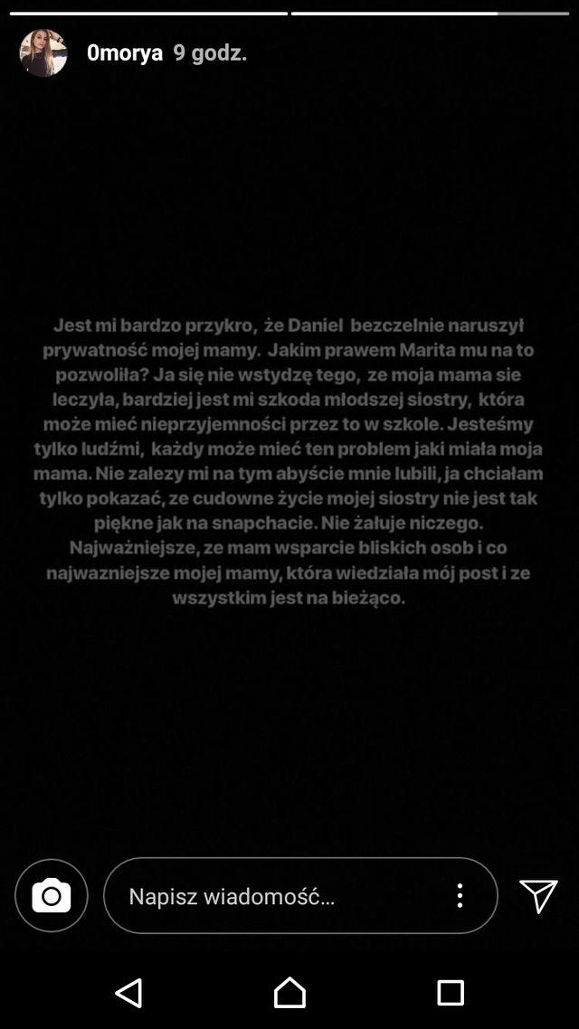 Klaudia ODPOWIADA na wersję Majewskiego: Daniel BEZCZELNIE naruszył prywatność