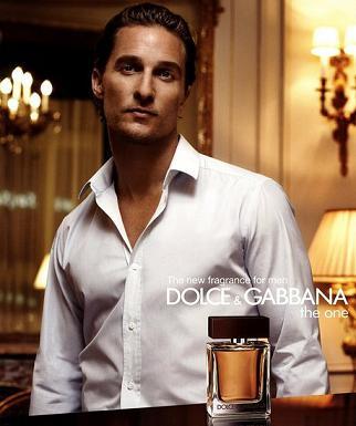Matthew McConaughey dla Dolce&Gabbana
