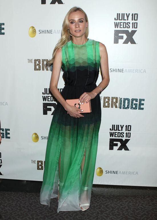 Diane Kruger błyszczy na czerwonym dywanie (FOTO)