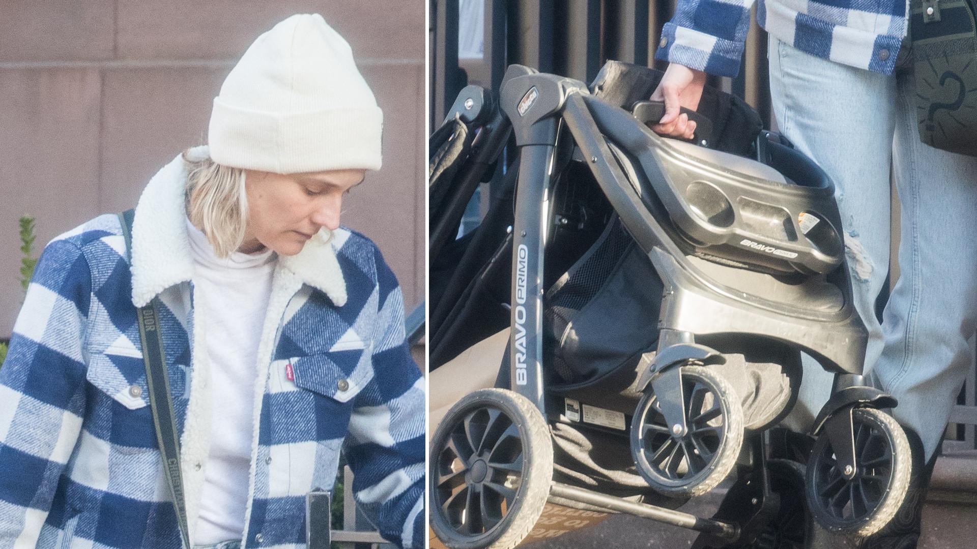 Diane Kruger (42 l.) dźwiga wózek – partner zajął się maluchem (ZDJĘCIA)
