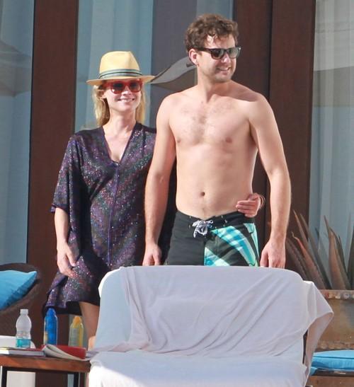 Diane Kruger i Joshua Jackson wygrzewaja się w słońcu