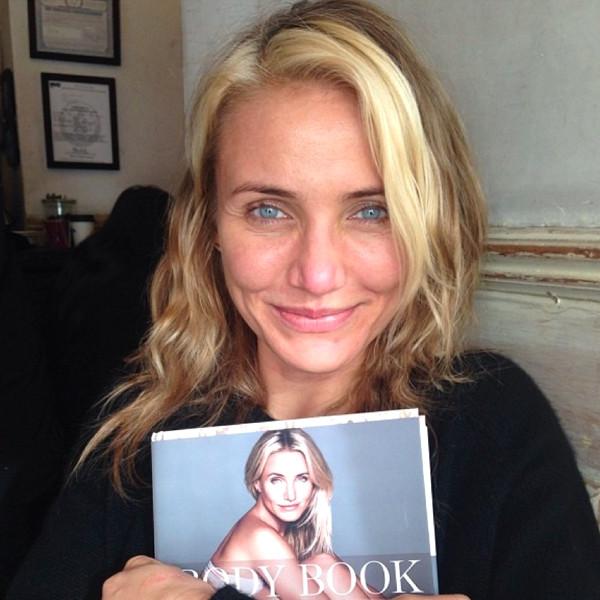 Cameron Diaz pochwaliła się zdjęciem bez makijażu (FOTO)