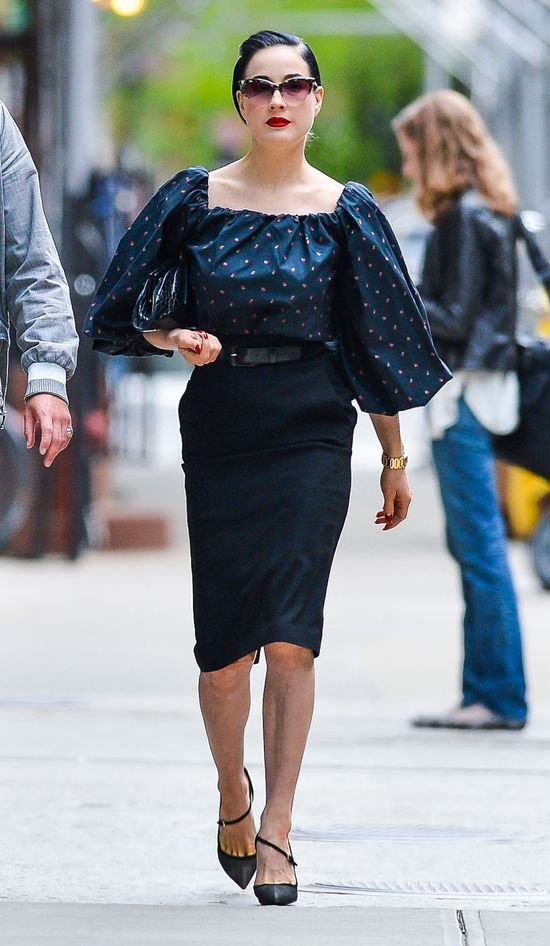 Dlaczego Dita Von Teese nie jest najlepiej ubraną gwiazdą?