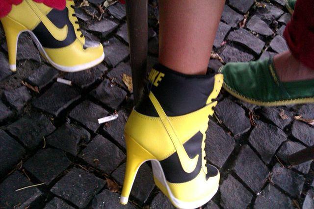 Doda w szpilkach od Nike (FOTO)