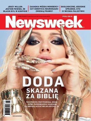 Doda w Newsweeku (FOTO)