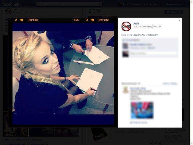 Doda podpisała kontrakt w wytwórnią płytową (FOTO)
