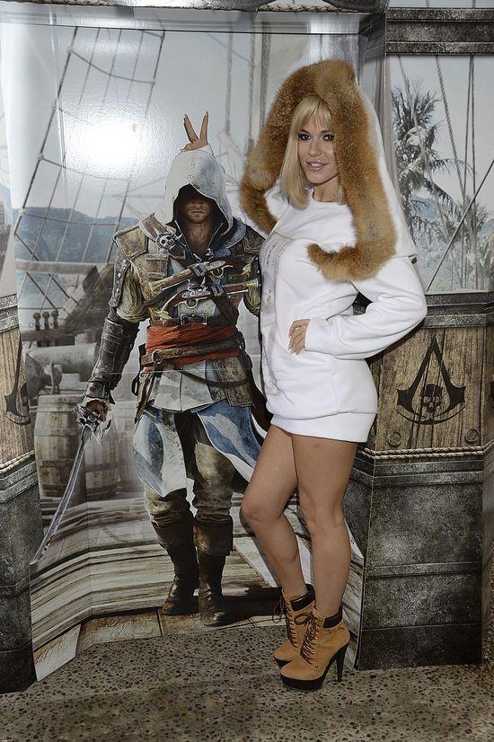 Doda w futrze na premierze gry komputerowej (FOTO)