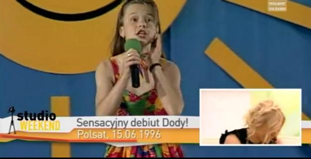 12-letnia Doda na scenie (FOTO)