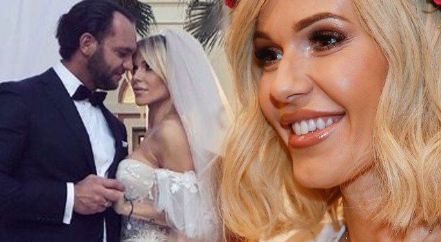 Doda w sukni ślubnej z mężem, Emilem Stępniem (Instagram)