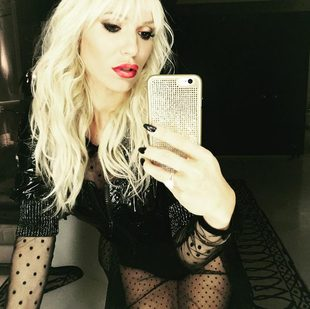 Doda na pre-party MTV EMA w berecie i seksownej sukience