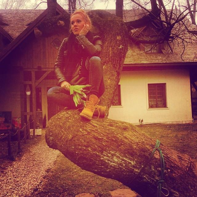 Doda Dzień Kobiet spędziła poza Warszawą (FOTO)