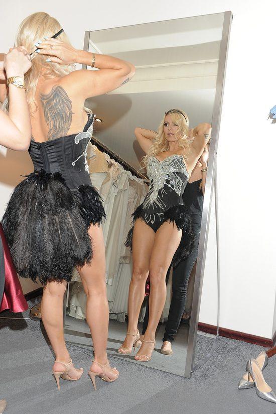Doda mierzy kostiumy na trasę Riotka (FOTO)