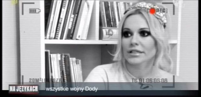 Szulim to nie jedyna osoba, która oberwała od Dody (VIDEO)