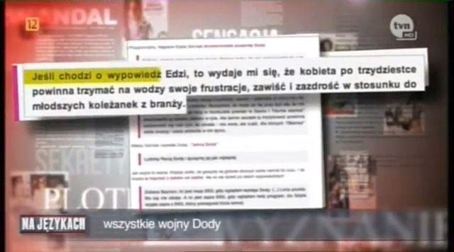 Szulim to nie jedyna osoba, kt�ra oberwa�a od Dody (VIDEO)