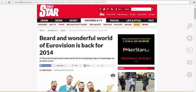 Brytyjski tabloid wyśmiewa My Słowianie