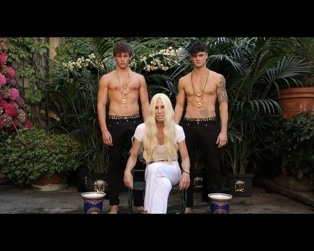 BOSKI splash Donatelli Versace! [VIDEO]