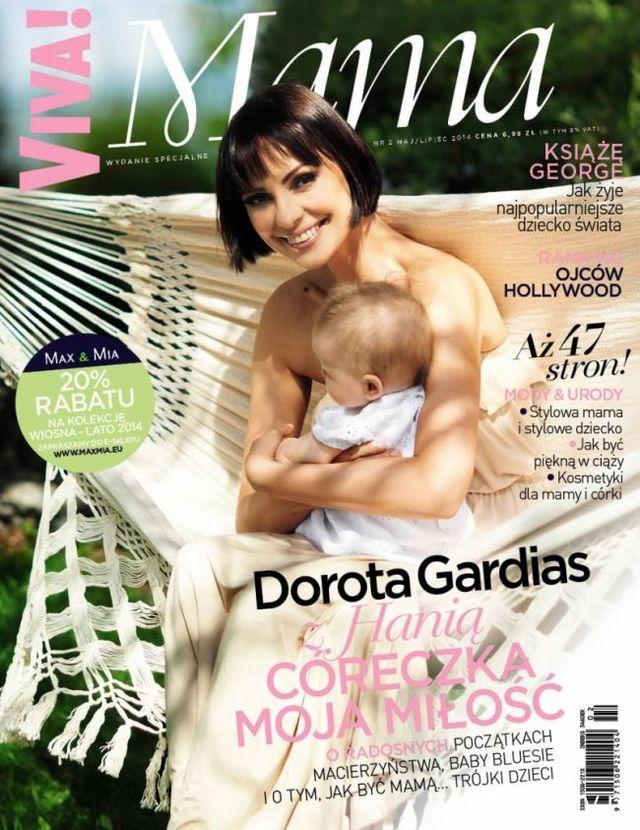 Czego żałuje Dorota Gardias w związku z macierzyństwem?