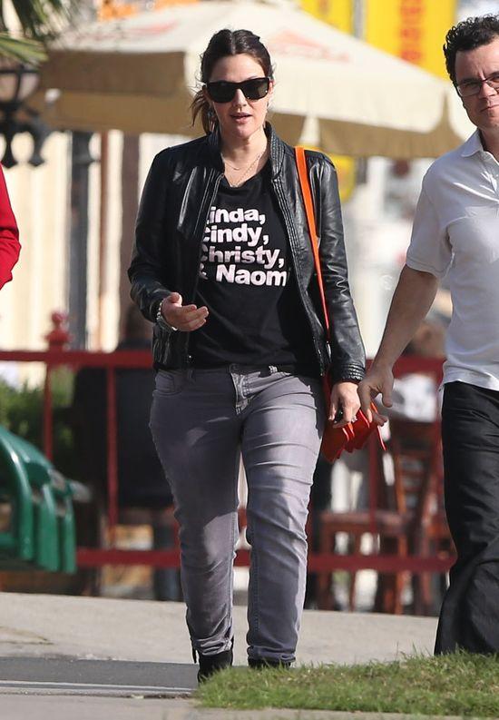 Pierwsze zdj�cie c�reczki Drew Barrymore w magazynie People