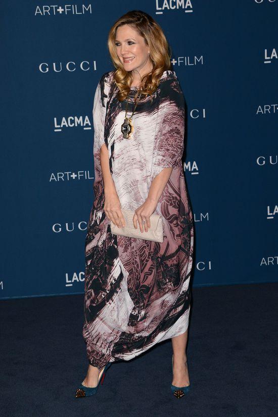 Drew Barrymore: Nie musisz wyglądać dobrze w ciąży