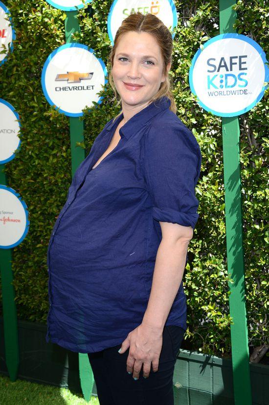 Drew Barrymore urodzi�a!