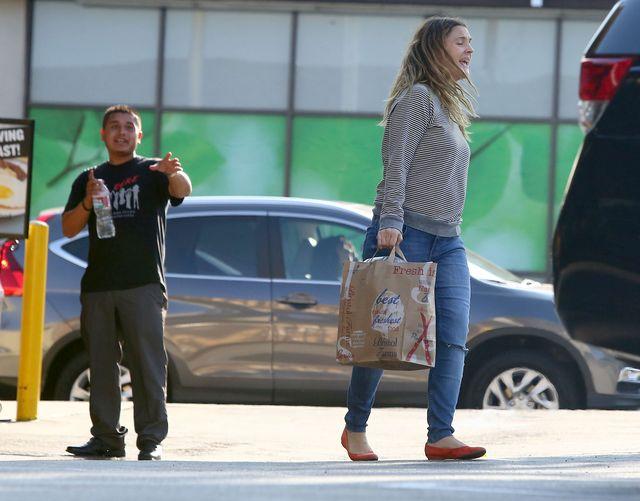 Fani do Drew Barrymore: Weź się za siebie! (FOTO)
