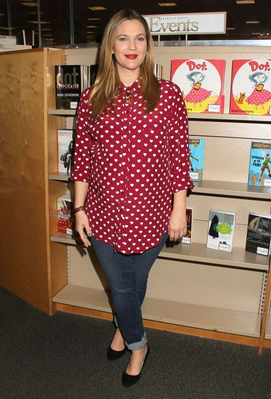 Drew Barrymore zdradziła, ile już przytyła w ciąży