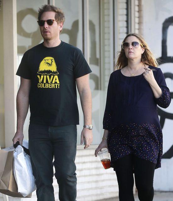 Drew Barrymore jest już zmęczona ciążą? (FOTO)