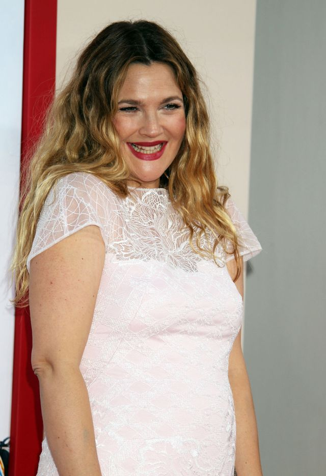 Co powiecie na Drew Barrymore bez makija�u? (FOTO)