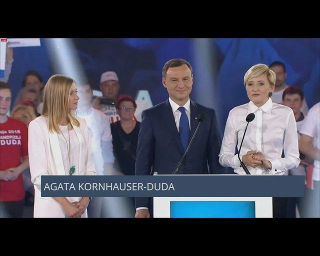 Andrzej Duda o żonie Agacie: Jedliśmy chleb z nutellą