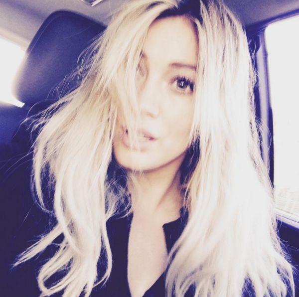 Hilary Duff ścięła włosy (Instagram)
