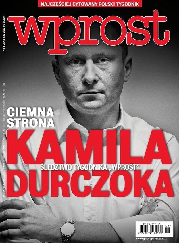 Kamil Durczok skomentował publikację we Wprost