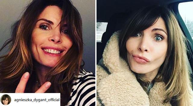 Agnieszka Dygant zmieniła fryzurę. Jest blondynką! (Instagram)