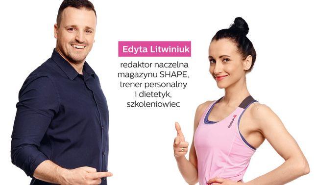 Edyta Litwiniuk i SHAPE zapraszają na szkolenie Silny umysł & Silne ciało