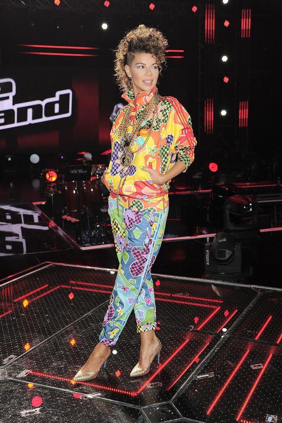 Mając do wyboru suknie od projektantów i dres, wybrała...
