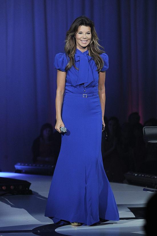 Edyta Górniak podczas finału Miss Polonia 2012 (FOTO)