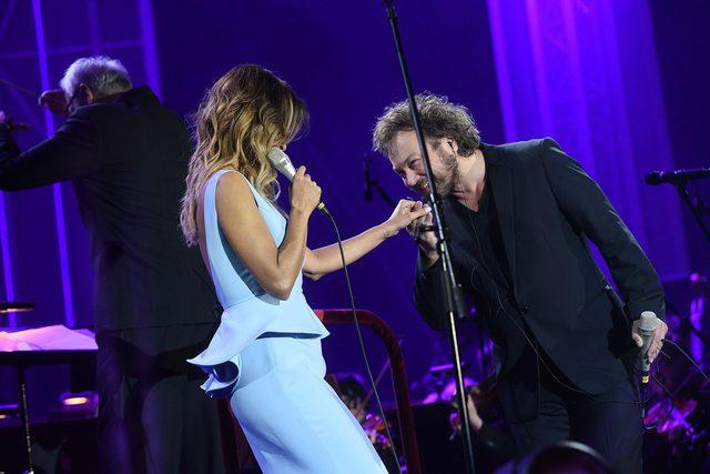 Nie poleciała do Sztokhlomu, ale dała koncert w Warszawie (FOTO)