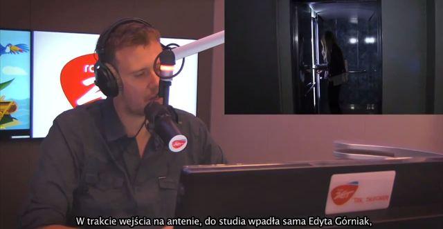Edyta Górniak wdarła się do studia Radia Zet i... (VIDEO)