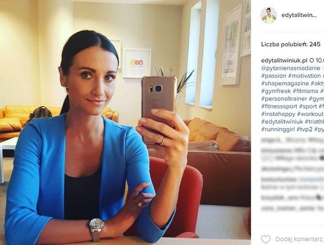 Edyta Litwiniuk pobiegnie charytatywnie w Półmaratonie Warszawskim