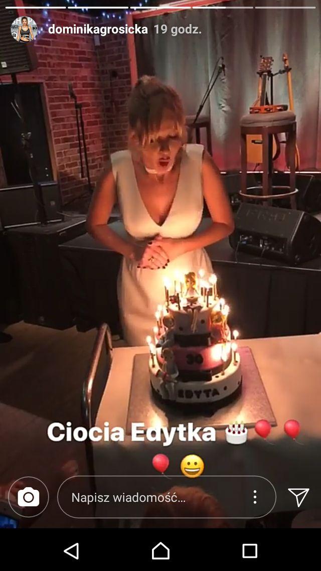 Edyta Pazura wyprawiła 30-te urodziny. Wśród gości Grosicka i Lewa (ZDJĘCIA)