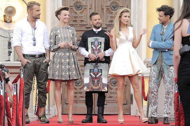 Profeszonal Dżoana Krupa i ekipa Top Model w Wilanowie FOTO