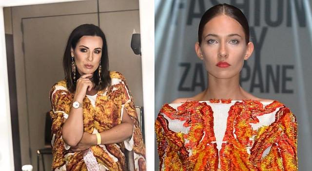 Maciej Zień pokazał nową kolekcję, Eliza Gwiazda już sprawdza modele
