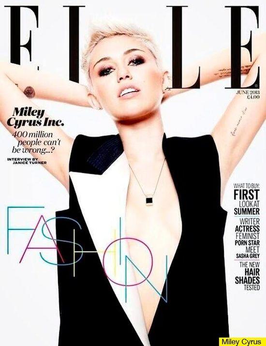 Miley Cyrus prezentuje kulisy sesji dla Elle (VIDEO)