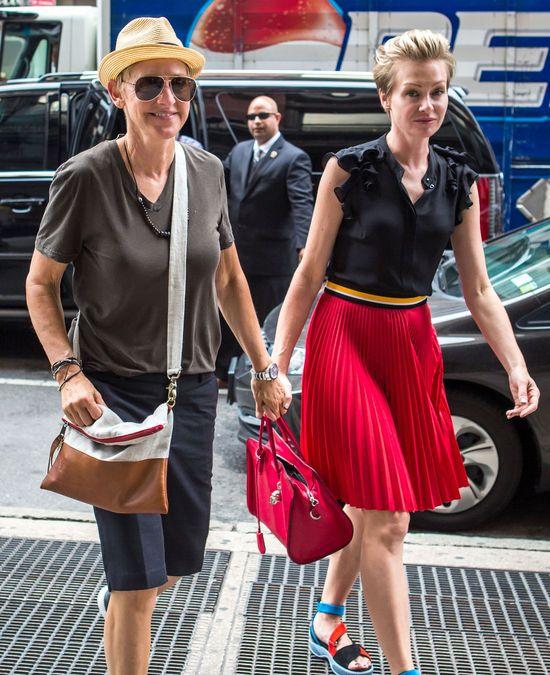 Portia boi się, że ktoś chce odebrać jej Ellen DeGeneres!
