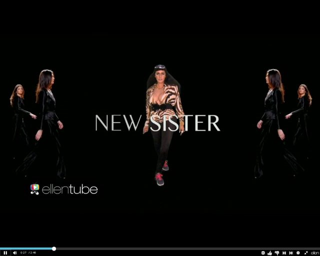 HIT SIECI. Ellen Degeneres jako zaginiona siostra Kardashian